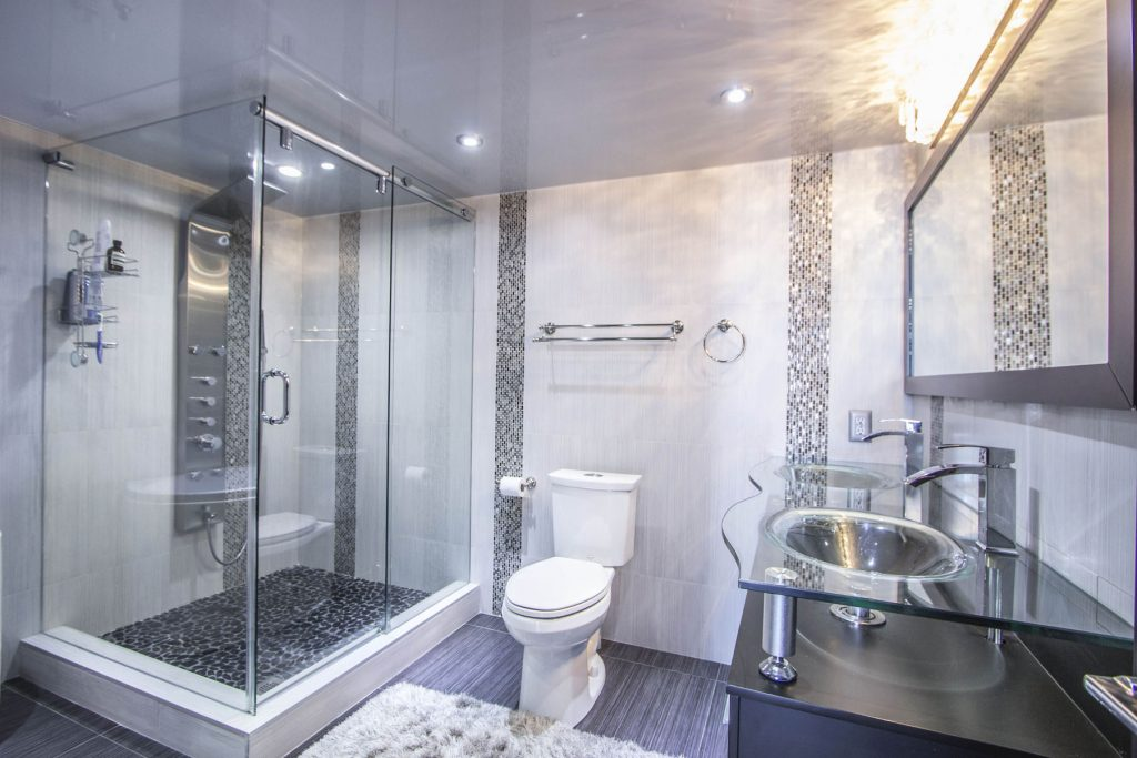 laqfoil bathroom with stretch ceiling south africa