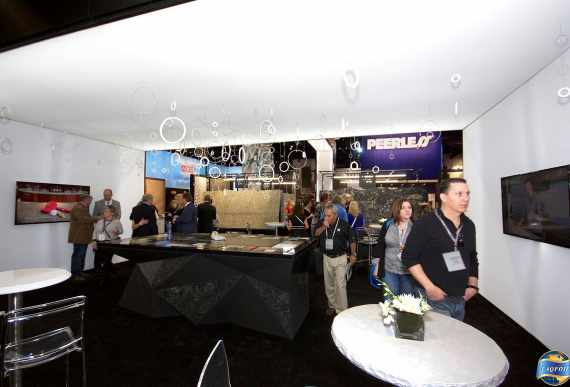 Laqfoil and Cambria at KBIS Las Vegas