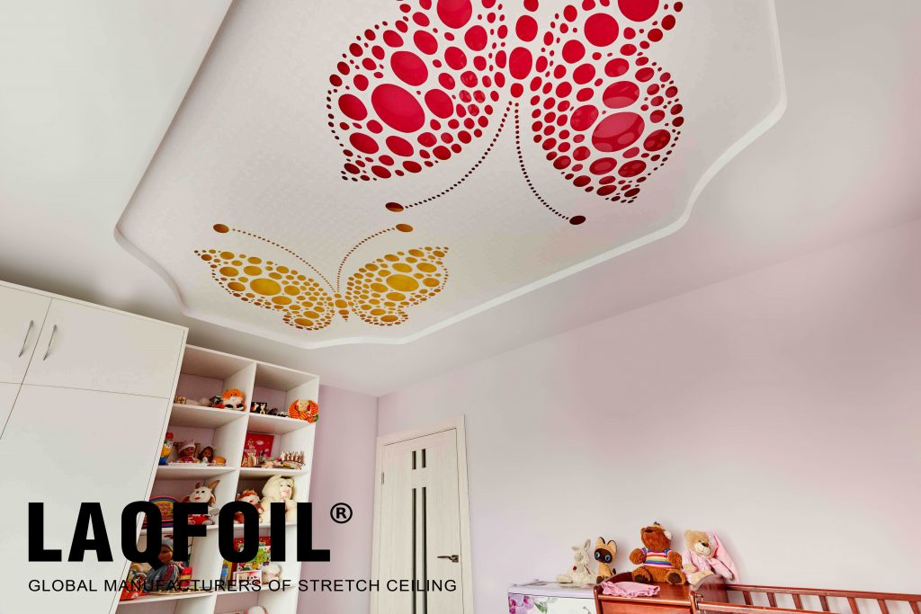 kids room with Perforated Ceilings