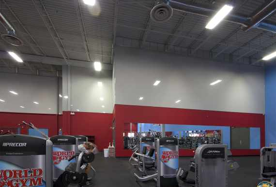 World Gym, Waterloo stretch membrane
