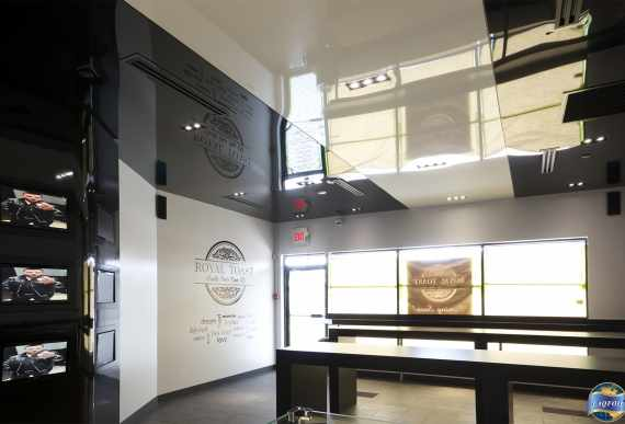laqfoil project if stretch ceiling