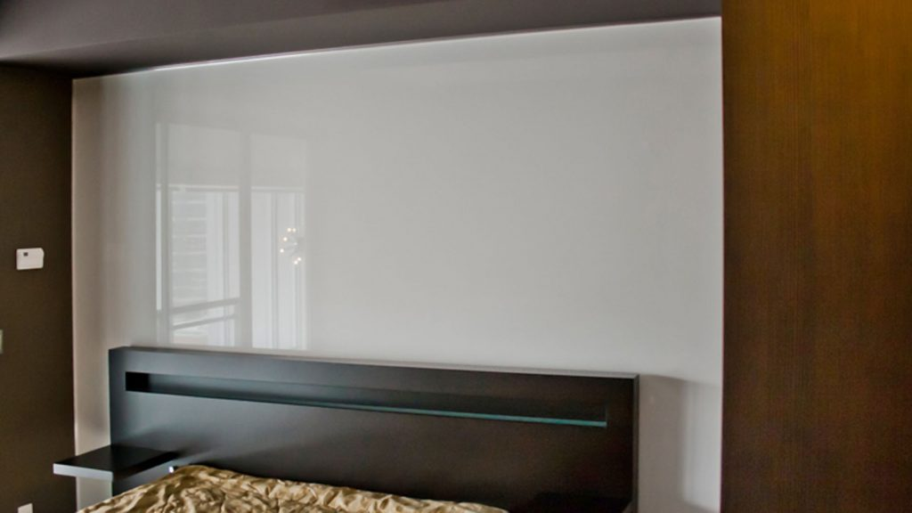 gloss stretch Custom Wall Covers