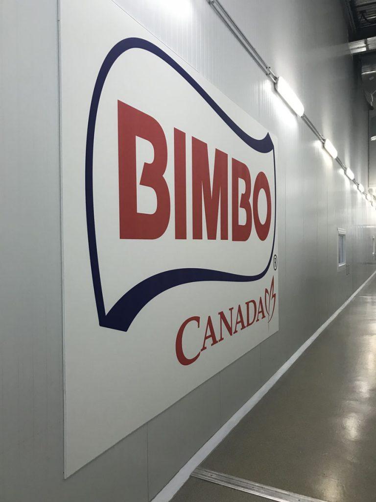 hallway with custom wall cover CANADA