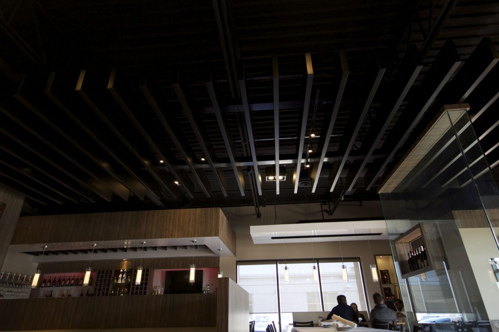 Bucatini Restaurant multilevel Modular Structures