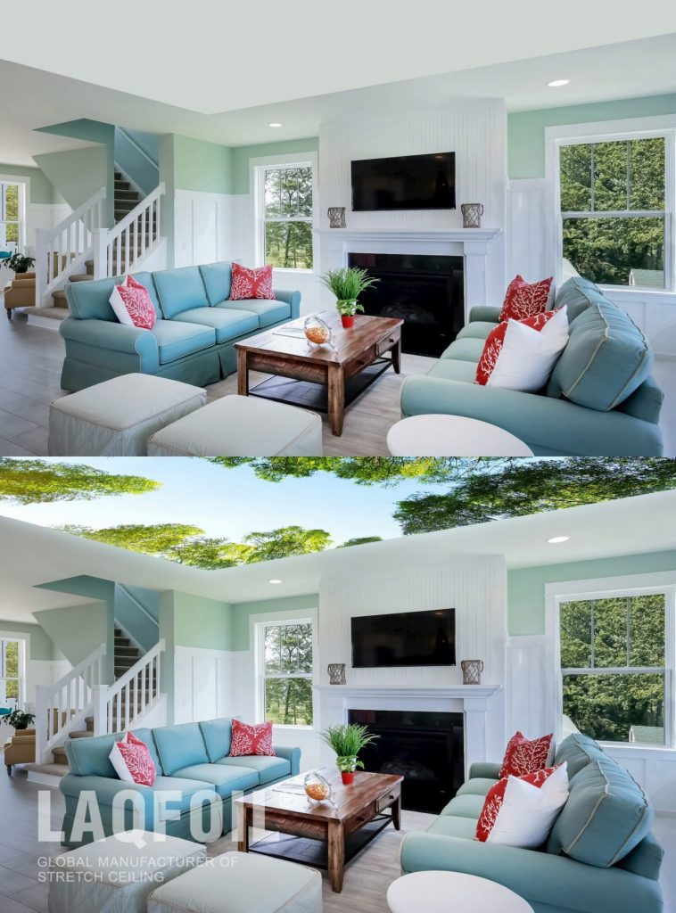 Double Vision Stretch Ceiling