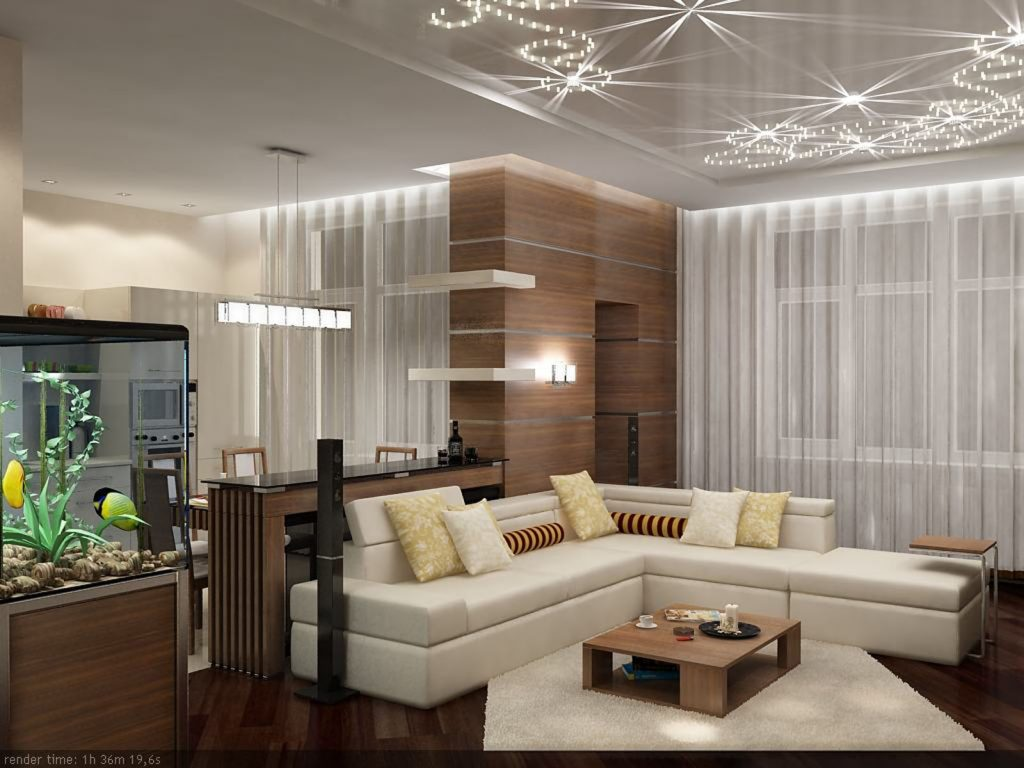 family room with amazing Perforated Ceilings by laqfoil toronto