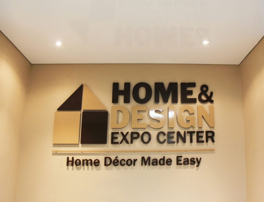 Home & Design Expo Center sign by Laqfiol