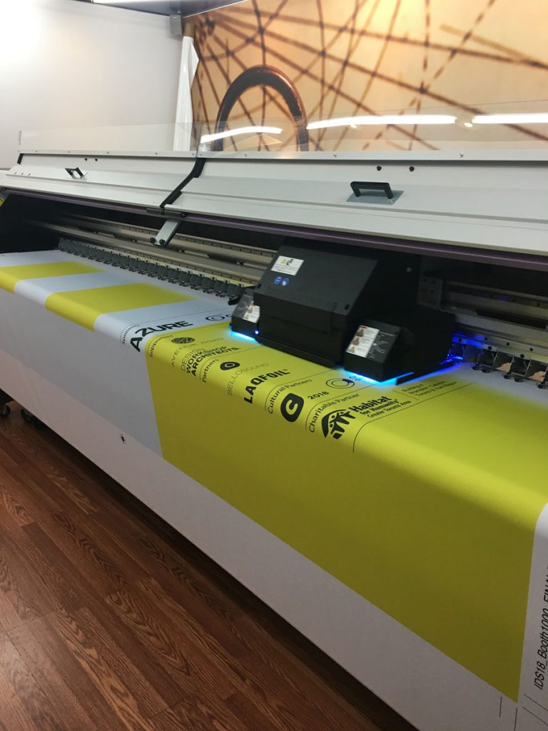 IDS Sponsorship 2018 banner in printing