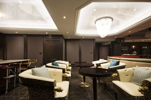 Laqfoil Basement Reflective Ceilings dining room and bar 2