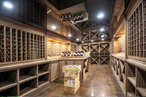 Laqfoil Basement Reflective Ceilings wine cellar and storage