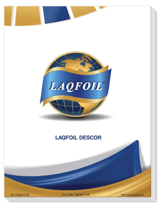 Laqfoil Descor brochure
