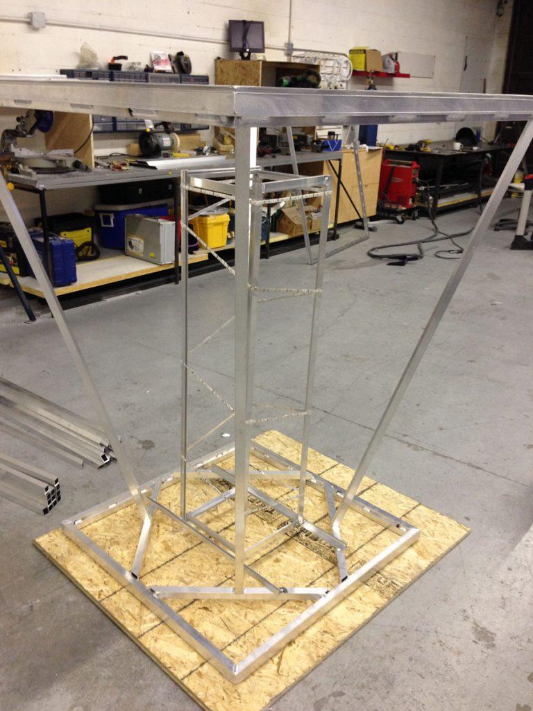 frame of modular structure toronto