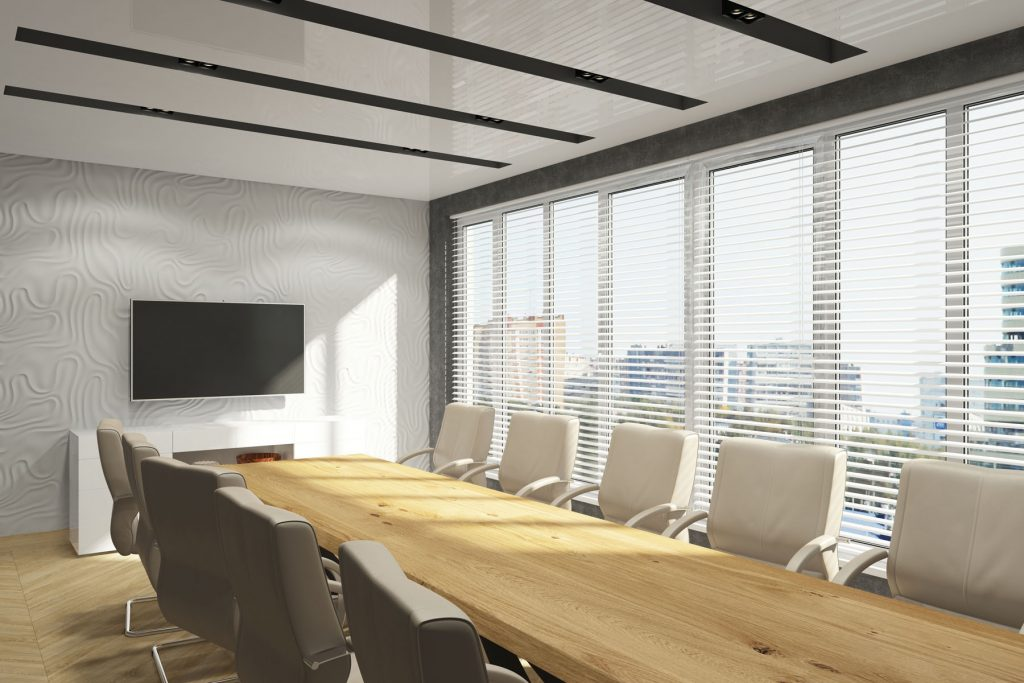 nor development inc with linear lights stretch ceilings