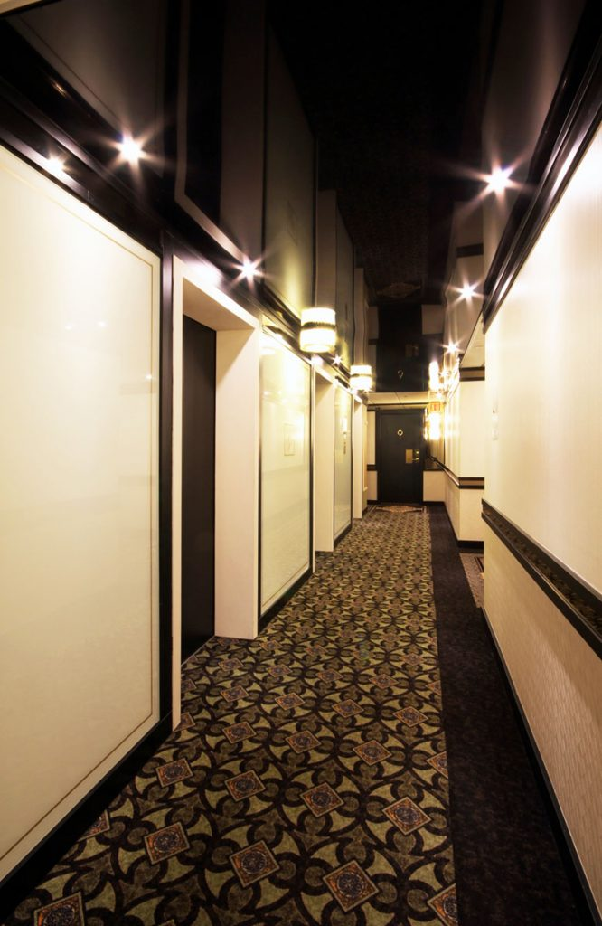 black gloss stretch ceiling by laqfoil toronto