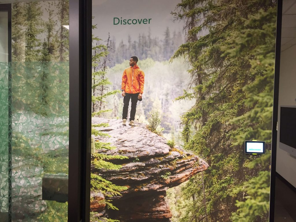 Rogers discover custom wall cover