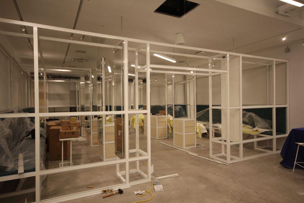 Thalmic Labs office framing kelowna