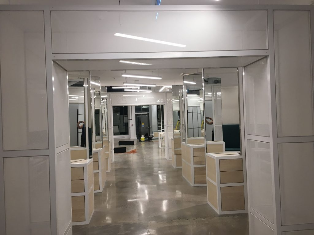 Thalmic Labs with stretch fabric walls