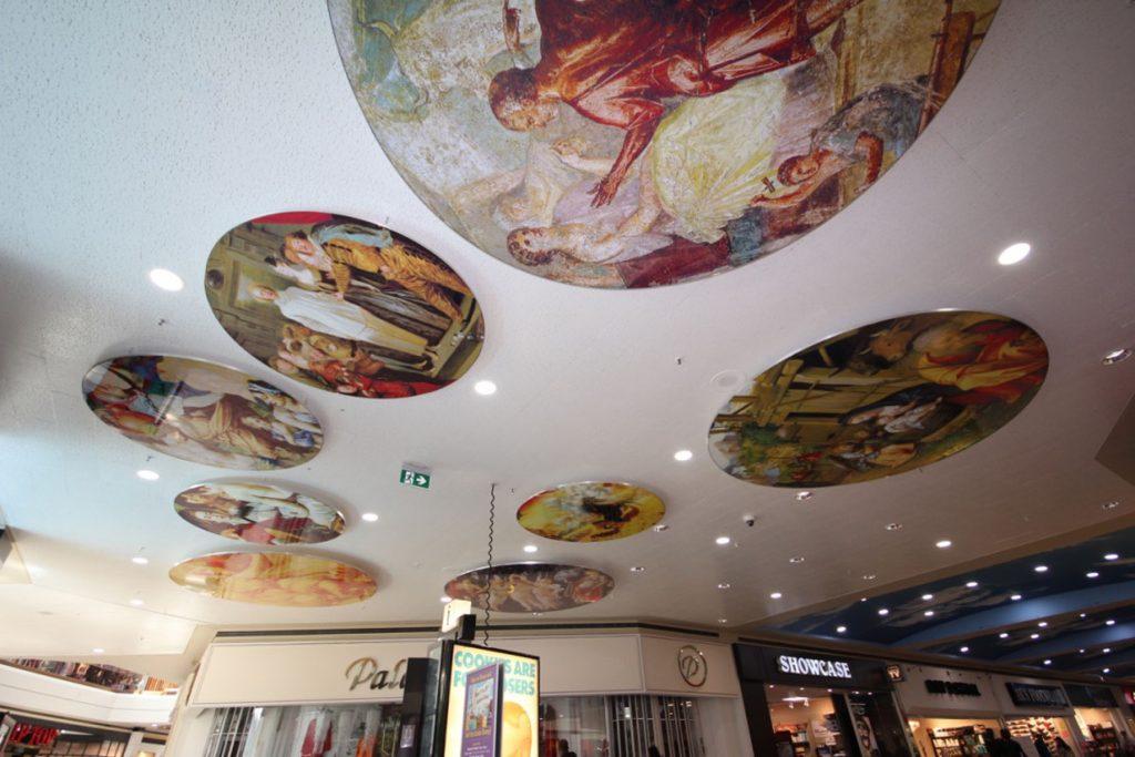 decorative stretch ceiling murals by laqfoil Belgium