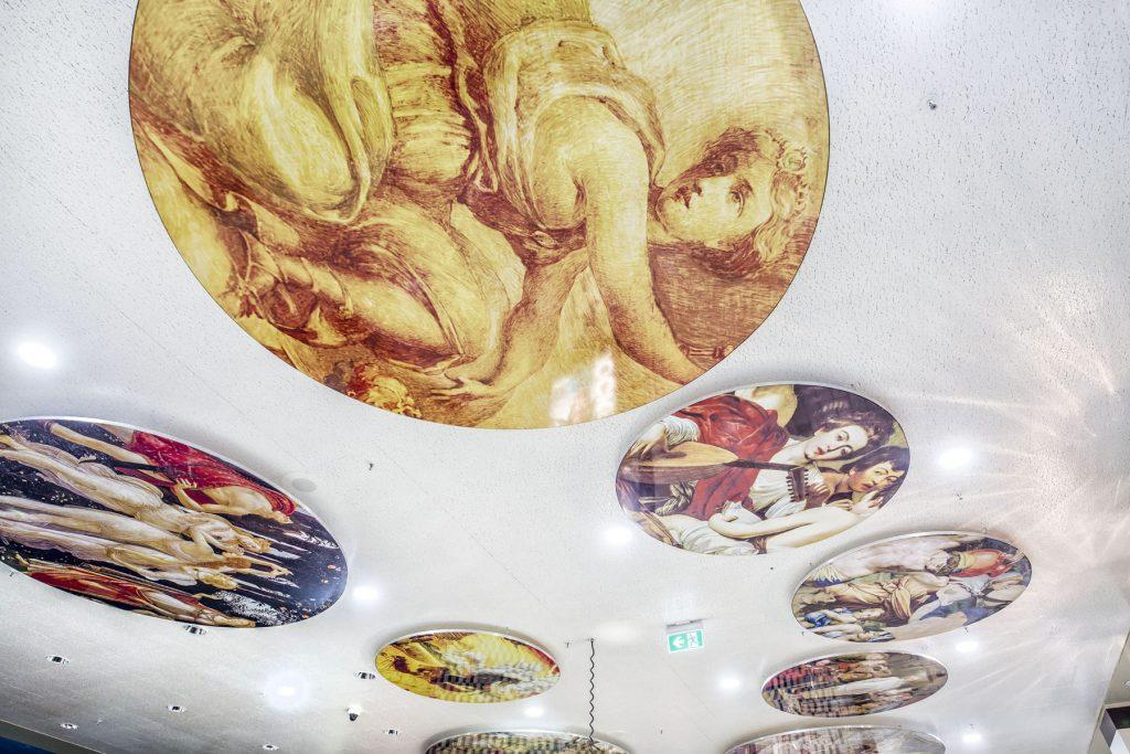 how to install a stretch ceiling custom murals dubai