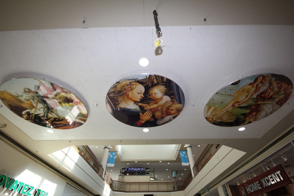 wall murals stretch ceiling technology in woodbine