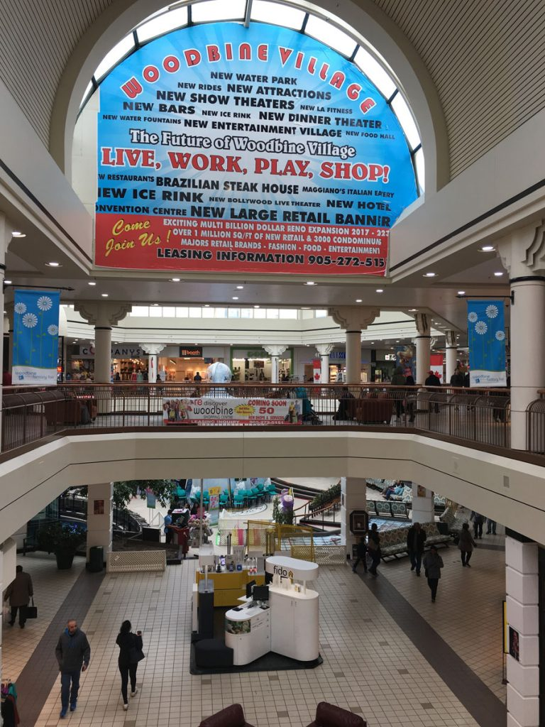 advertising custom wall cover in luxury mall united states