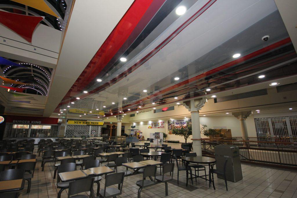 multi color reflective stretch ceiling GTA