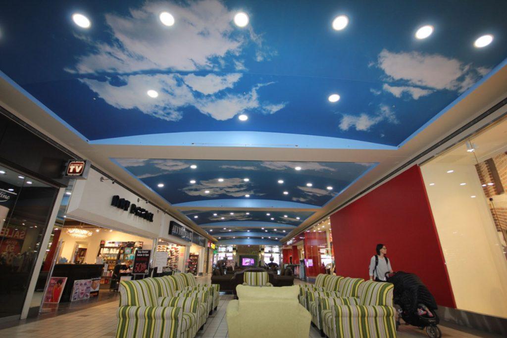 gloss stretch printed ceiling of the sky toronto