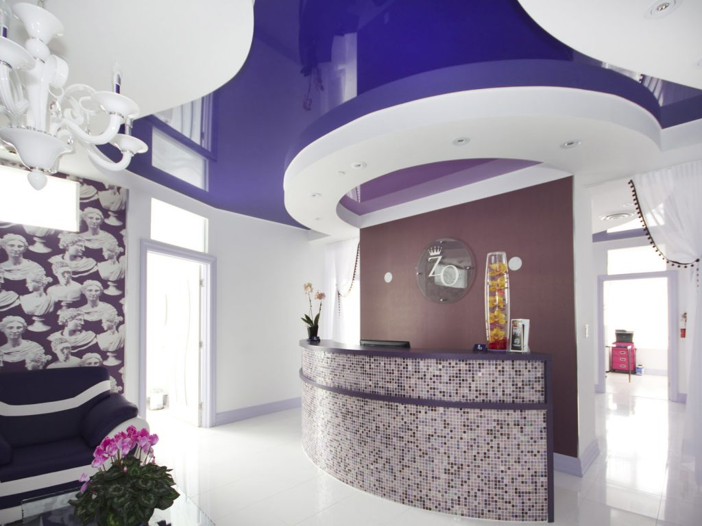 Zolo Aesthetics clinic with high gloss stretch ceiling