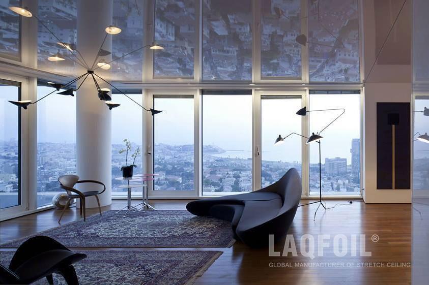 High Gloss Stretch Ceiling