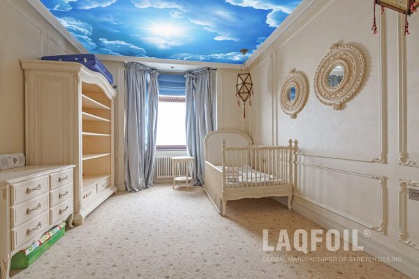 amazing Starry Sky Ceilings by laqfoil in kids room