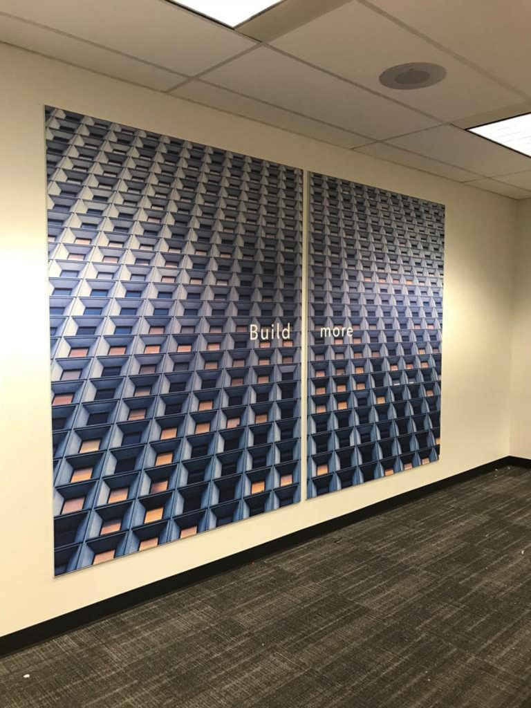 build more custom wall cover