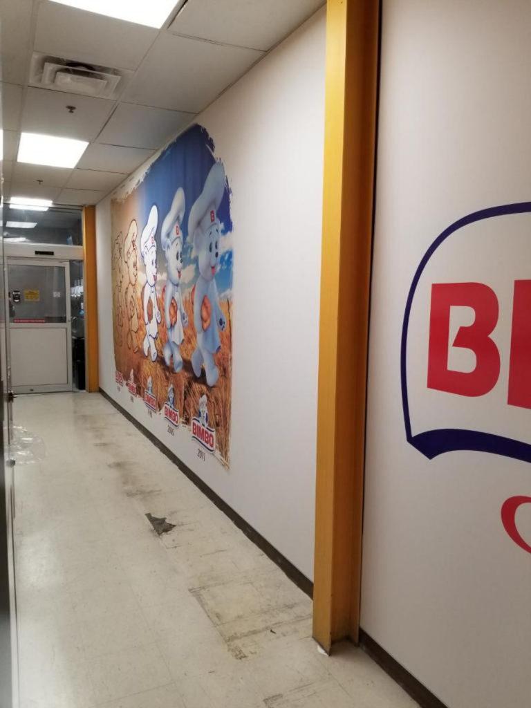 custom wall cover Bimbo