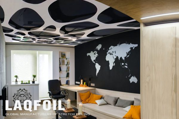 Amazing printed ceiling and wall mural