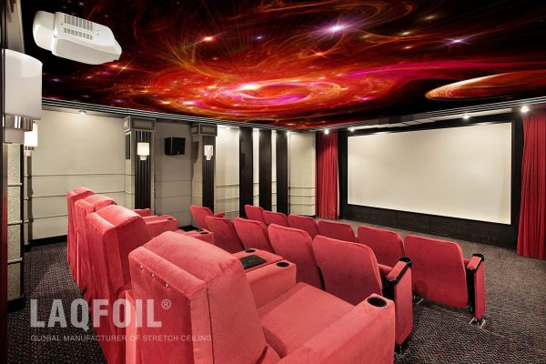 night sky ceilings in home theater