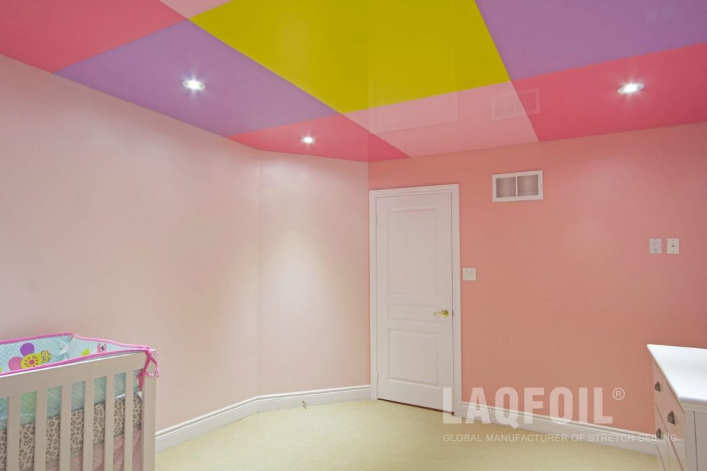 Multicoloured Reflective Stretch Ceiling