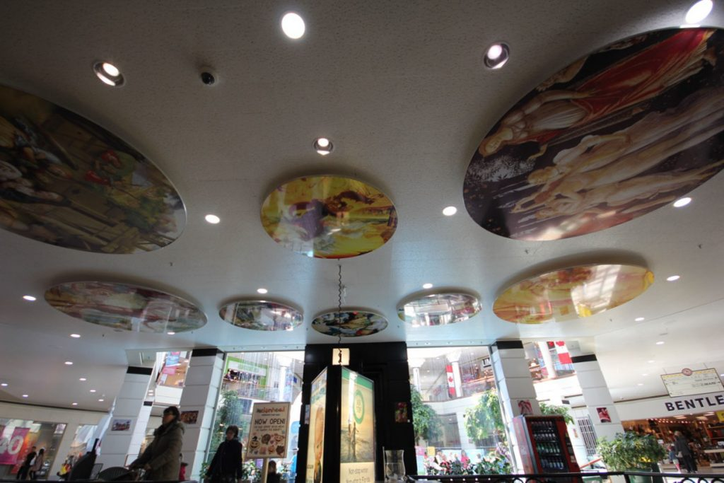 custom murals on the ceiling - stretch ceiling images uk