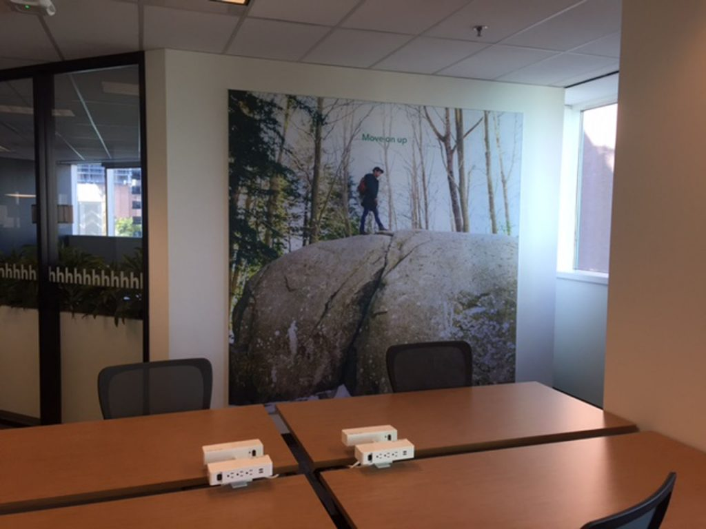 custom wall cover installation by laqfoil malta