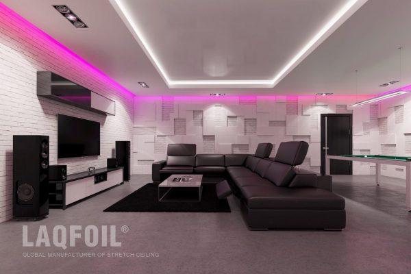 amazing backlit matte ceiling