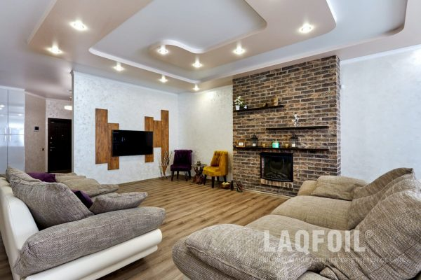 multilevel stretch ceiling