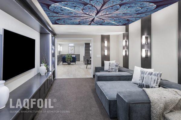 custom backlit printed ceiling