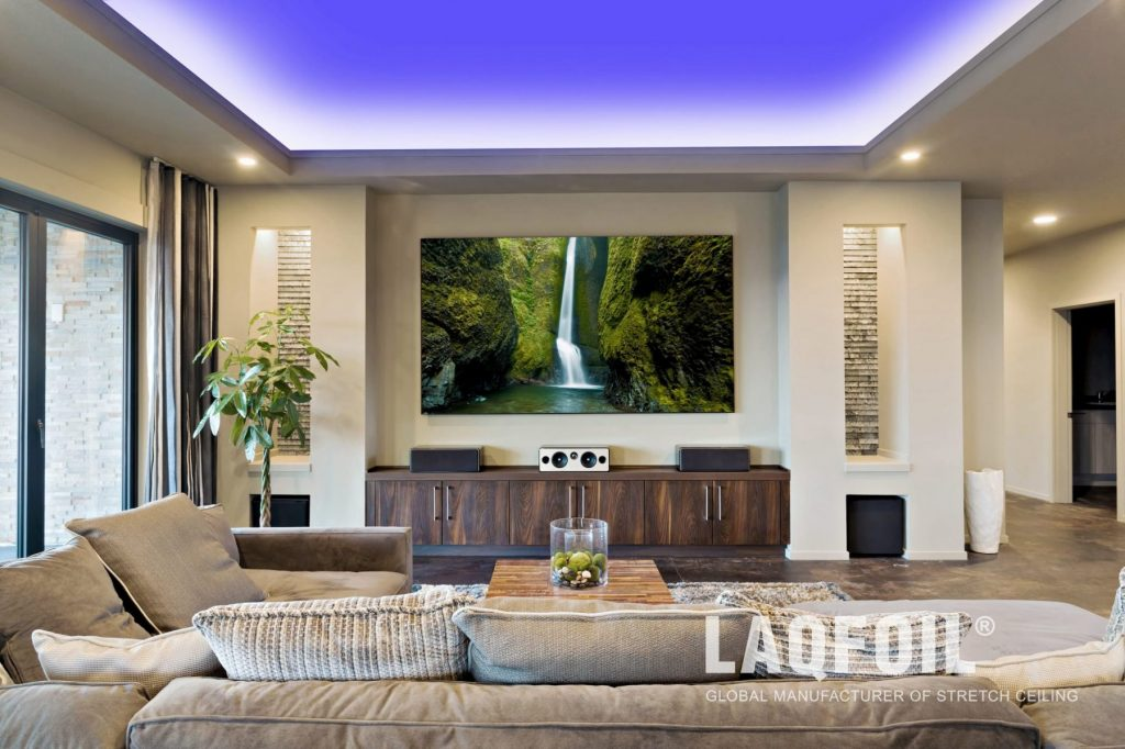 Custom Design Stretch Ceilings by Laqfoil