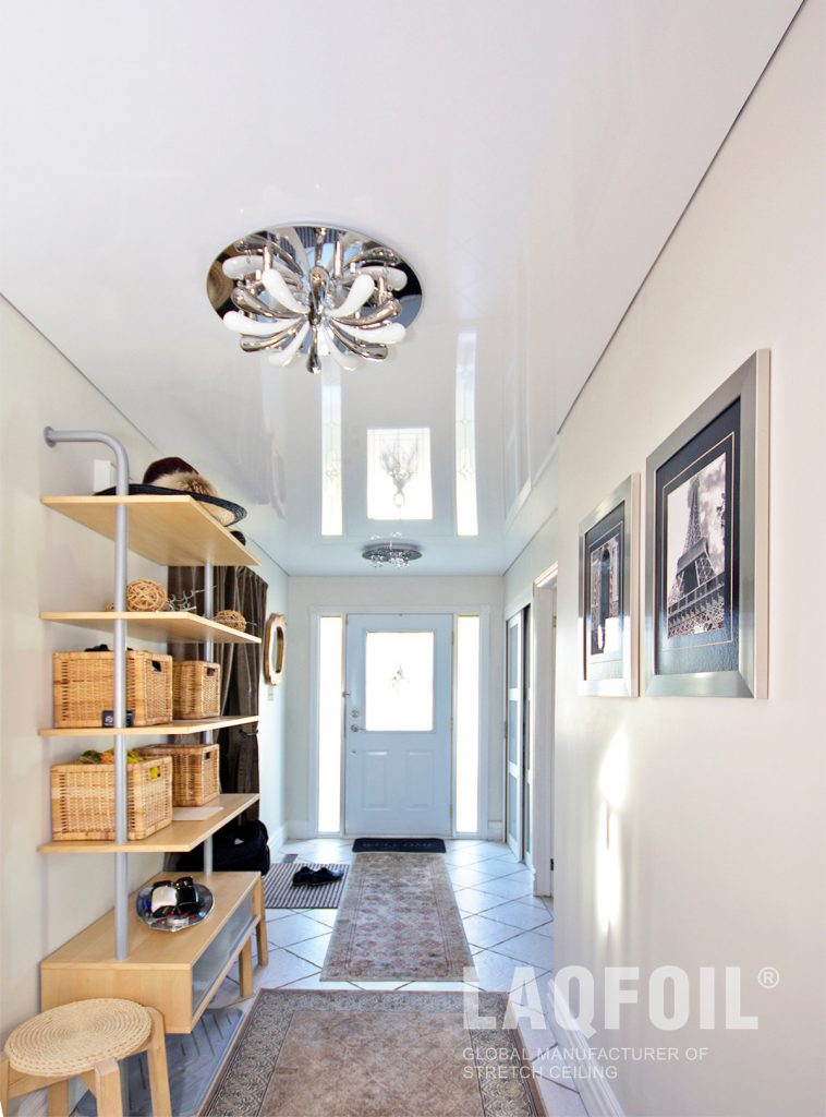 White Reflective Stretch Ceiling