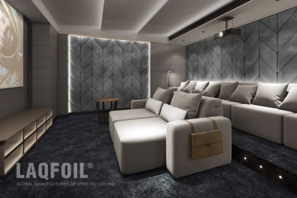 multilevel Linear Lights Ceiling