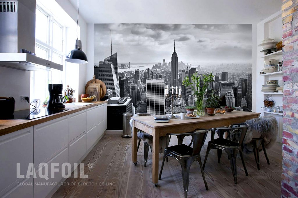 Custom Printed Wall Mural