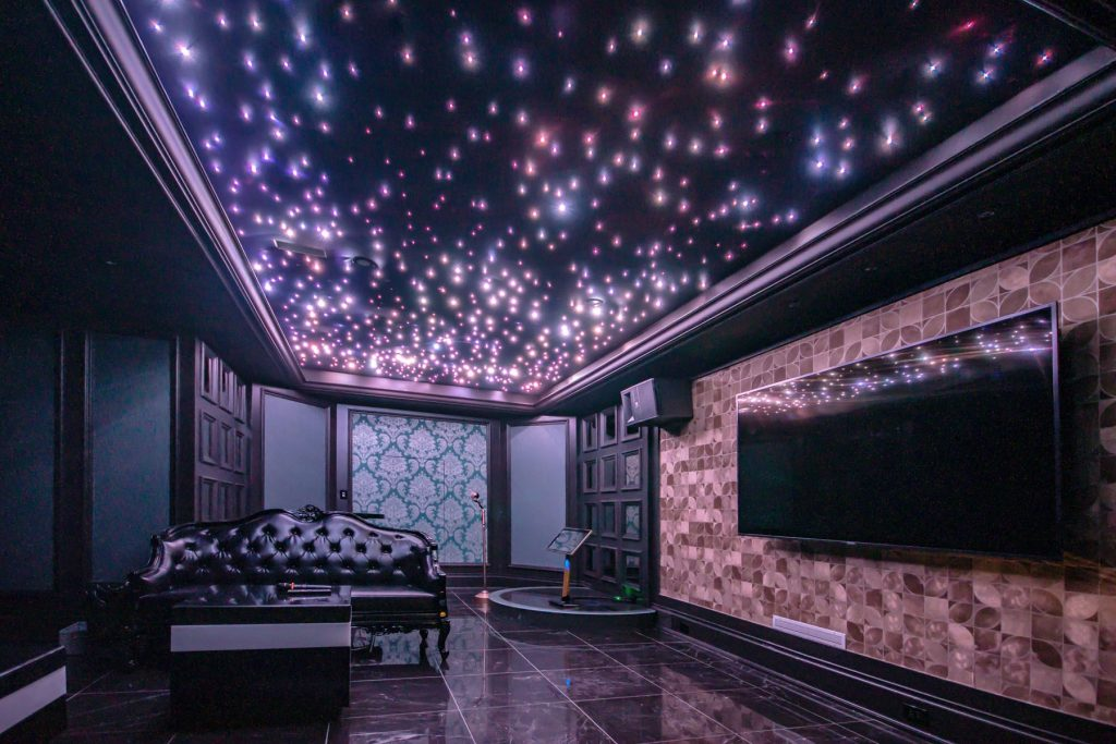 stretch ceiling 3d illusion Starry Sky Ceilings contractors toronto