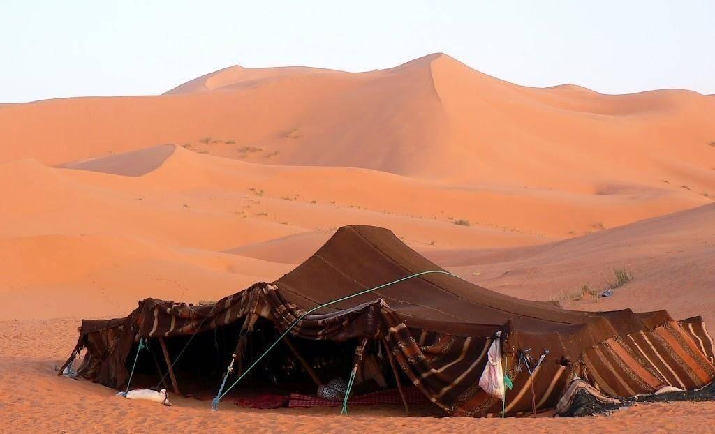 stretch fabric tent