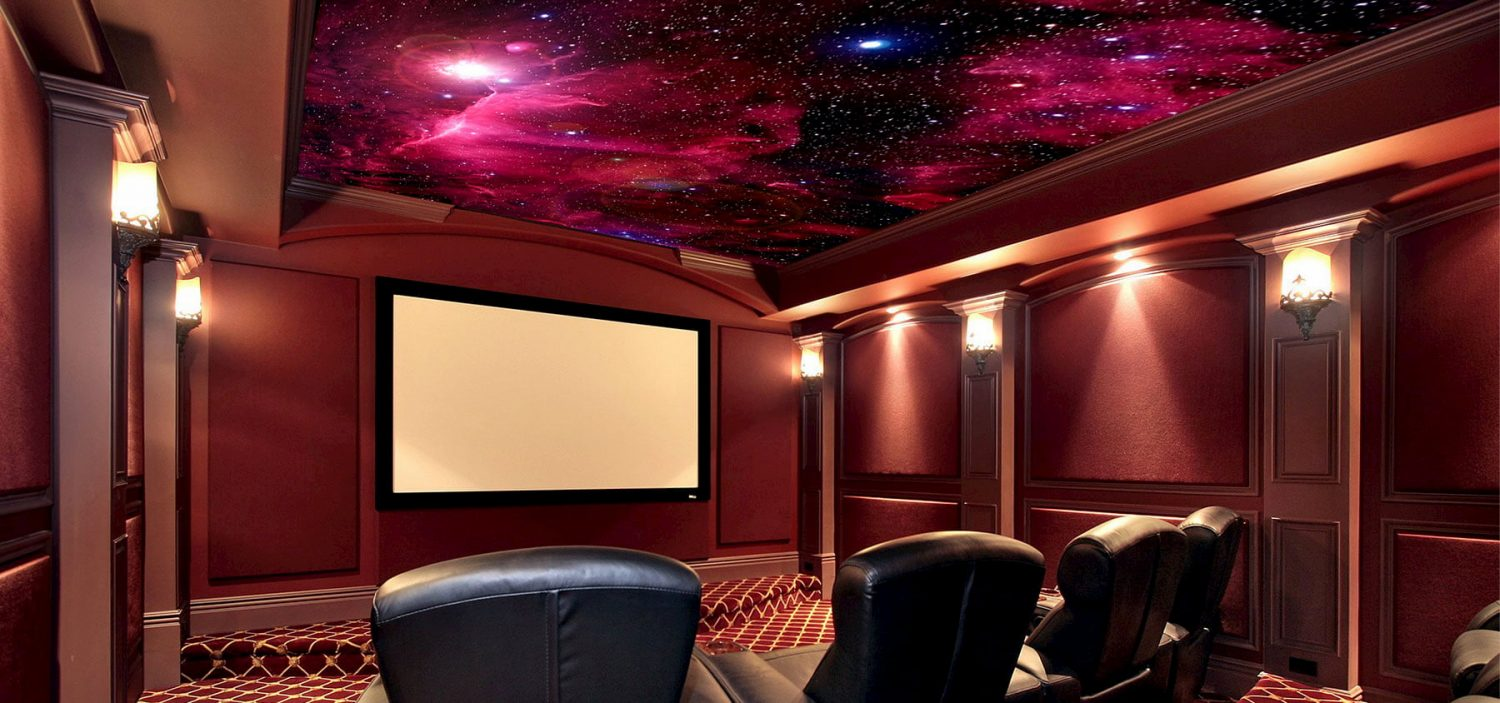 custom stretch ceiling starry sky