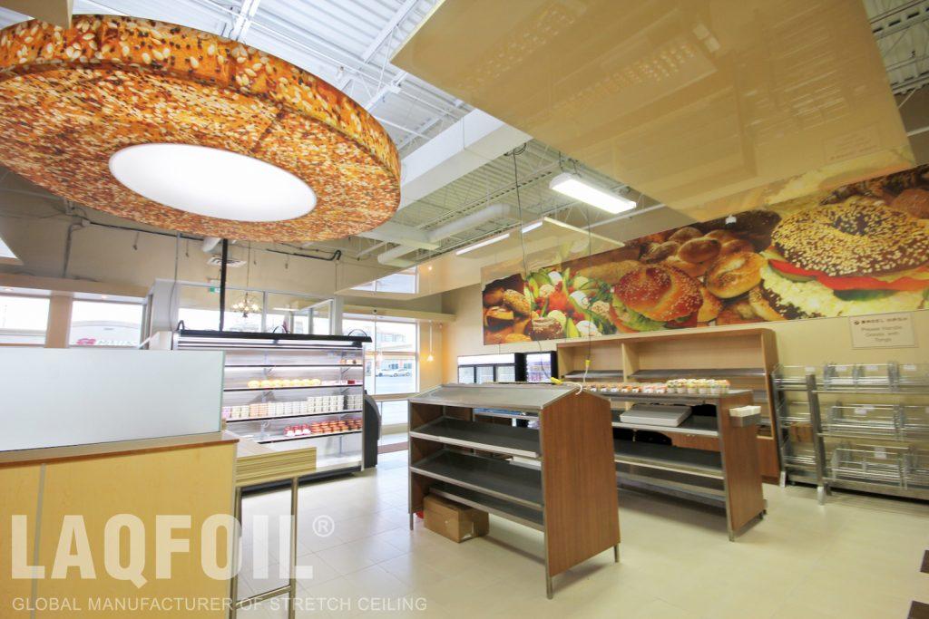 Bagel Nash Restaurant modular ceilings