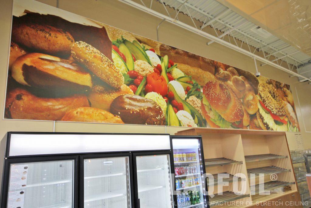 Bagel Nash Restaurant printed wall mural