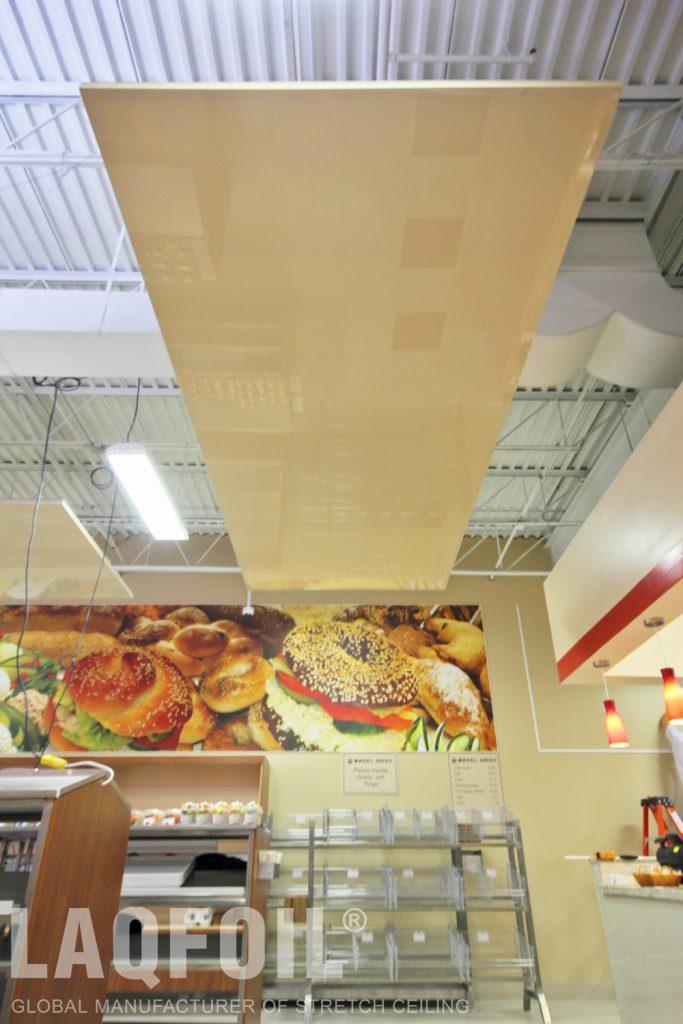 Bagel Nash Restaurant reflective structure
